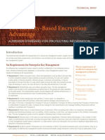Voltage Technical Brief SecureMail the IBE Advantage