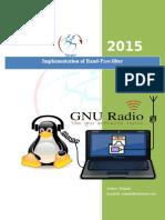 Band-Pass Filter on GNU Radio