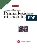 A. Bagnasco - Prima Lezione Di Sociologia