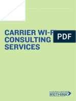 Description of WiFi Services-Design
