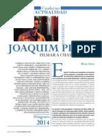 Entrevista con Joaquim Pinto