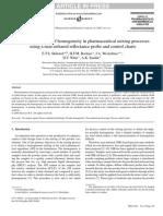 Homogeneity in Pharmaceutical Mixing Processes