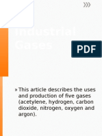 Industrial Gases