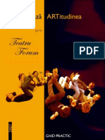 Re-Creeaza ARTitudinea Prin Teatru Forum - Ghid Practic