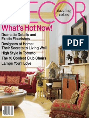 Prime Elle Decor 01 02 2006 Chair Upholstery Onthecornerstone Fun Painted Chair Ideas Images Onthecornerstoneorg