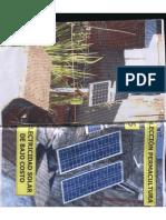 Colección Permacultura 15 Electricidad Solar de Bajo Costo