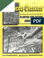 Plaguicidas Organicos - Plantas Con Accion Insecticida