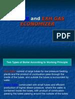 Boiler and Exh Gas Economizer