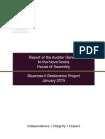 A.G. Bluenose report