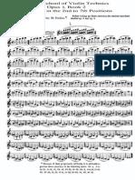 IMSLP25444-PMLP56123-School of Violin Technique Op.1 Book2 for Violin