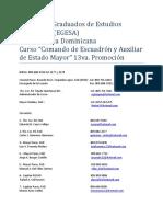 13 Ava Promocion CEAEM11, EGESA