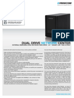 Datasheet Freecom Dual Drive Network Center en Copy