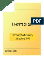 Teorema Di Fourier
