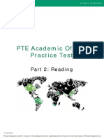 Part2 Reading PTEA Practice Test
