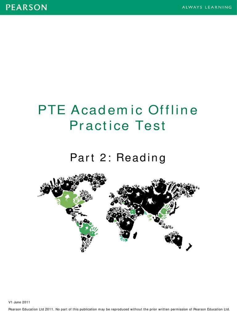 Part2 Reading PTEA Practice Test | Umami | Taste