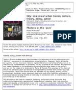 Rhetoric of the 'Slum'