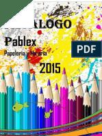 Pablex papeleria 2014-2015