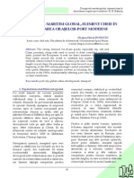 Transportul Maritim Global, Element Cheie in Dezvoltarea Oraselor-port Moderne