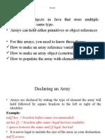 Java notes By Pradeep Goud