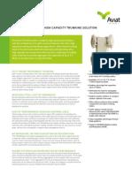 Aviat STR 600 Data Sheet - June 27_ 2013 (1)