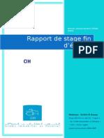 Rapport de Stage CIH