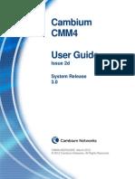 CMM4 User Guide