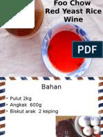 Fu Chou Red Wine