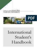 Handbook 2014 of Yuan Ze University