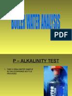 Boiler Water Analysis