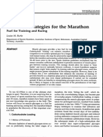 Burke (2007) Nutritional Strategies for the Marathon