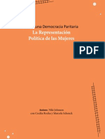Hacia una Democracia Paritaria. La Representación Política de las Mujeres