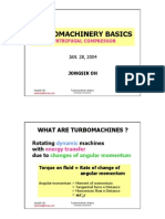 Turbomachinery Basics