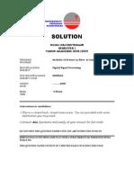 Solution Final Sem1 0809