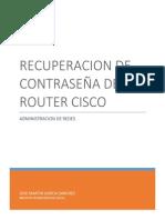 Recuperar Contraseña de Router Cisco