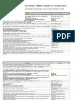 WWPL Catalog Jan 2006
