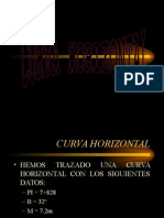 Curva Horizontal