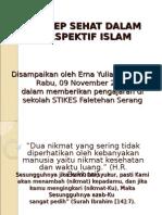 Minggu Ke-6_Konsep Sehat Dalam Perspektif Islam