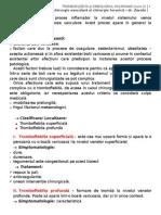 Tromboflebita Si Embolismul Pulmonar