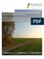 2015 Global Food & Agriculture Investment Outlook