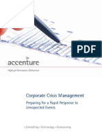 Accenture Corporate Crisis Management