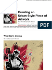 Creating an Urban-Style Piece of Artwork