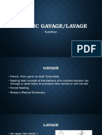 Gastric Gavage