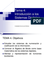 4 - Introduccion a Los Sistemas Digitales