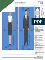 Flight Attendant Interview Dress Code Photograph Specification- Sample.