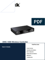 Dlink Controller DWC-1000 User Manual v2.00