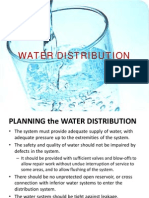 Lecture 2 - Water Distribution