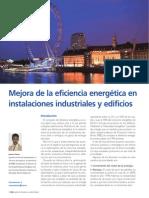 Artículo Eficiencia Energética en Instalaciones Industriales y Edificios