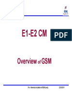 Chapter 01.Overview of Gsm