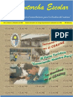 """""""La Antorcha Escolar"""" Boletin Informativo del CEAUNE"""