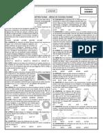 Lista 09 - Geometria Plana - Áreas de Figuras Planas (Curso)